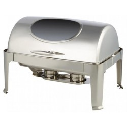Rolltop Chafing Dish Window