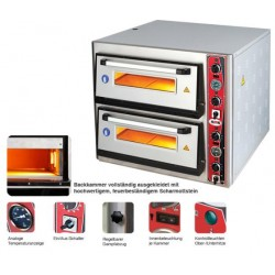 Pizzaofen Classic Lux mit Therm.